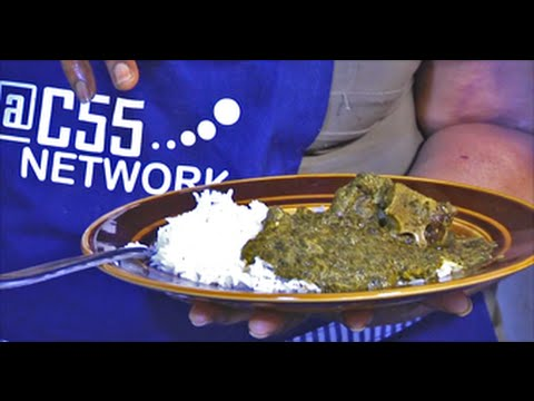 Sierra Leonean Cuisine, Cassava Leaves Stew & Okra Stew