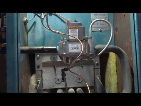 gas boiler replace gas control valve