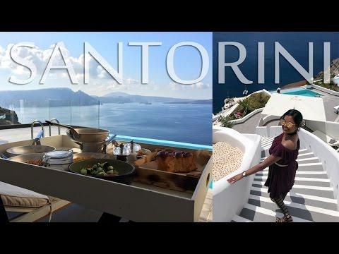 Sunset In OIA, Santorini - Where To Stay In Oia, Santorini