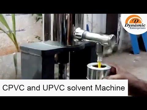 CPVC and UPVC solvent Machine