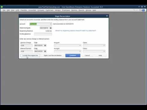 Account balance does not match bank balance desktop