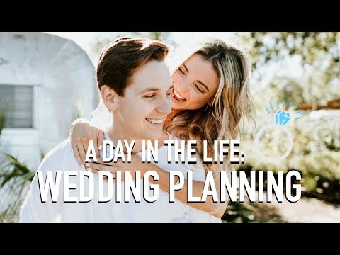 A DAY IN THE LIFE | WEDDING PLANNING!!!