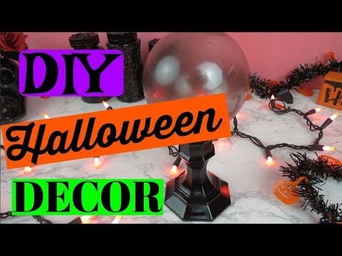 EASY DIY HALLOWEEN DECOR!