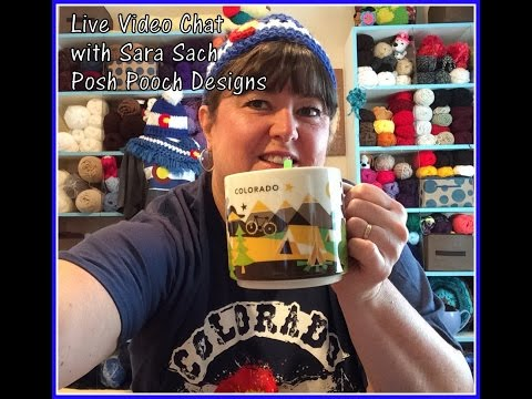 Live Video - Uneven Crochet Rows and How to keep them Even.