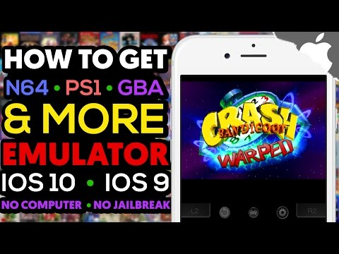 NEW! How to Get N64, GBA, PS1 Games & More on your iOS Device ! iOS 10 (NO JAILBREAK) (NO COMPUTER)