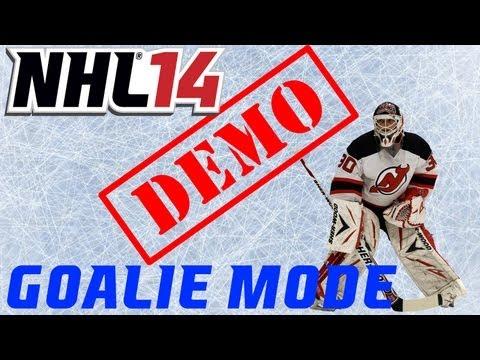 NHL 14: Demo - Goalie Mode