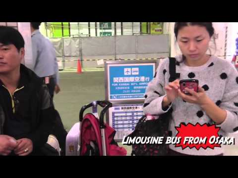 Quick and Easy Osaka or Kyoto Transportation to and from  Kansai Airport