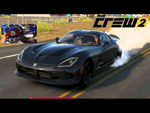 Wheelie Drag Viper - The Crew 2 BETA LP Ep1 First Wheel Impressions