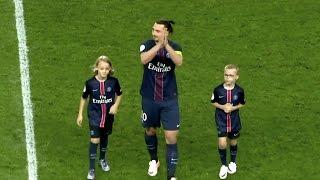 Zlatan Ibrahimovic - Goodbye PSG | #King #Legend