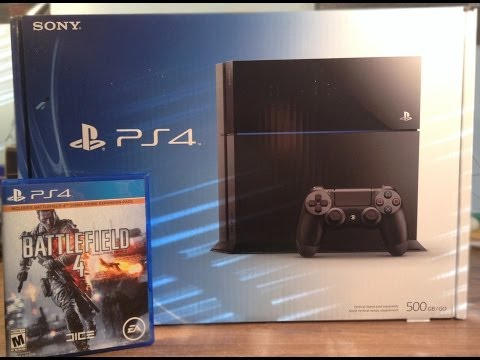 Sony Playstation 4 Unboxing and Overview