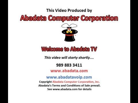 15P - Panasonic Phone- Conference Call - Abadata