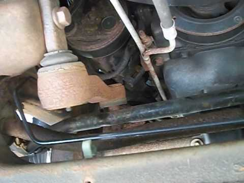 F150 bad idler arm pitman arm tie rod ends ball joints