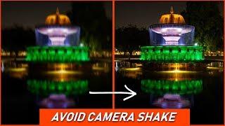 How to AVOID CAMERA SHAKE for SHARP PHOTOS | Camera Tips in Hindi