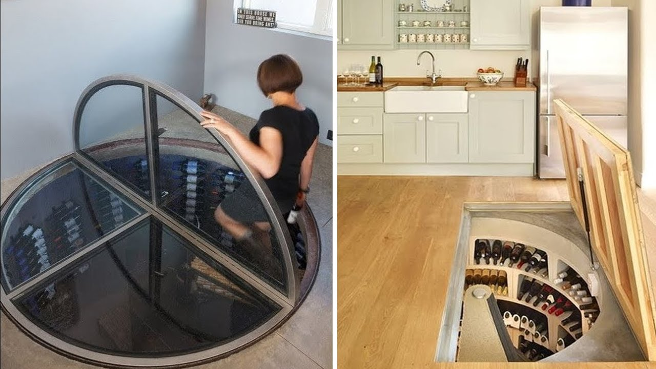 AWESOME HIDDEN ROOMS AND SECRET FURNITURE 2020