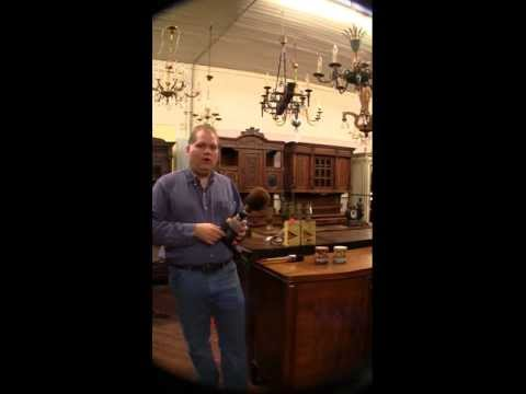 How to Clean & Wax Antique Furniture - Part 2