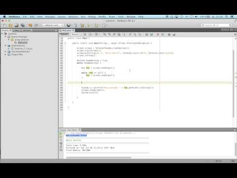 Lanterna, Console Text GUI Library for Java, part 2