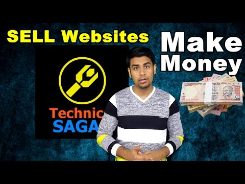 How to Make Money | Selling Websites | For Beginners (In Hindi)