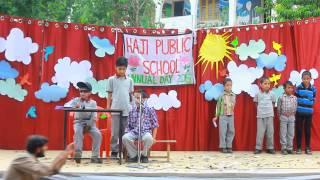 A hilarious interview skit @ Haji Public School Annual Day 2015