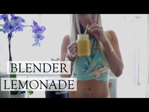 Delicious BLENDER Lemonade | Easy Homemade Lemonade Recipe