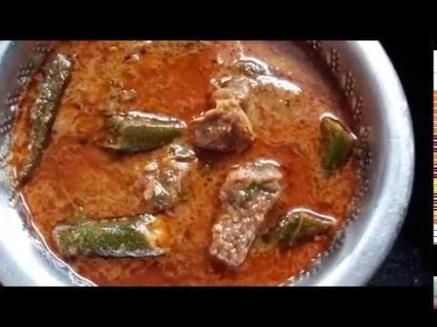 Bhindi Gosht (Lady Finger Meat Recipe)