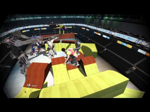 Skate 3 Triple Front-Flip