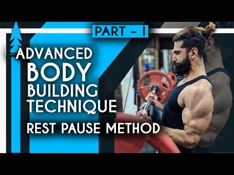 REST PAUSE TRAINING for BUILDING MUSCLE | Advanced Bodybuilding Part 1