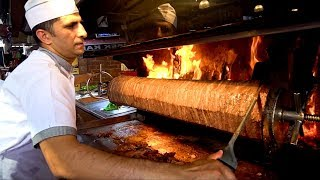 TURKISH STREET FOOD : You've NEVER Seen this Before!!! KEBAB HEAVEN + Street Food in Izmir Turkey