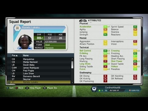 FIFA 14 Career Mode | AMAZING YOUTH TEAM | Best High Potential Young Players - Testing Player Growth