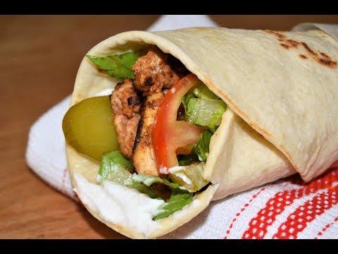Chicken Shawarma and Lebanese Bread/Chef Ahmad's Kitchen