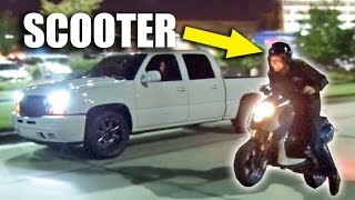SLEEPER Scooter Goes Street Racing