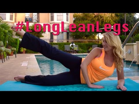 Long Lean Legs Workout: Inner and Outer Thighs
