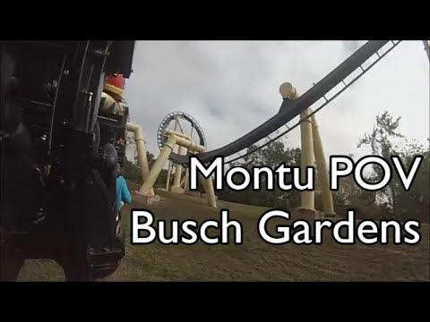 Montu POV @ Busch Gardens Tampa, FL