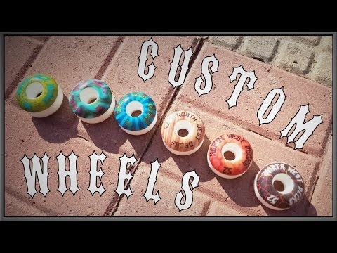Six New Custom Skate Wheel Graphics!