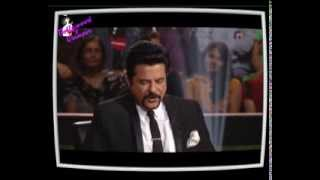 Copy of Anil Kapoor on the set of KBC 6
