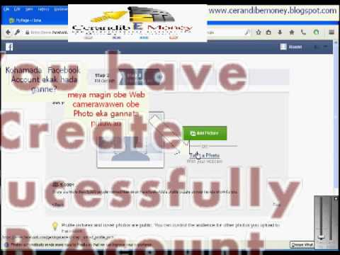 How to Create a Facebook Account In English
