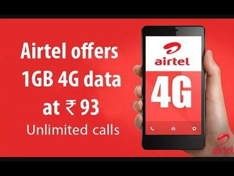 Jio Effect: Airtel's Rs. 93 Prepaid Recharge Plan Offers 1GB Data, Free Calls