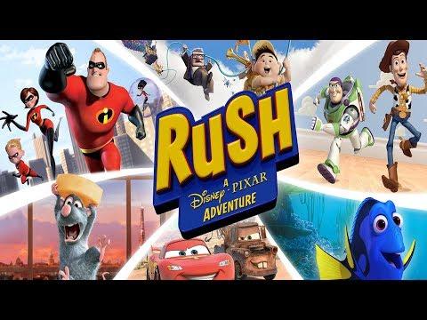 Rush A Disney Pixar Adventure - Cars World | Episode 1-2 (XBox One X Gameplay)