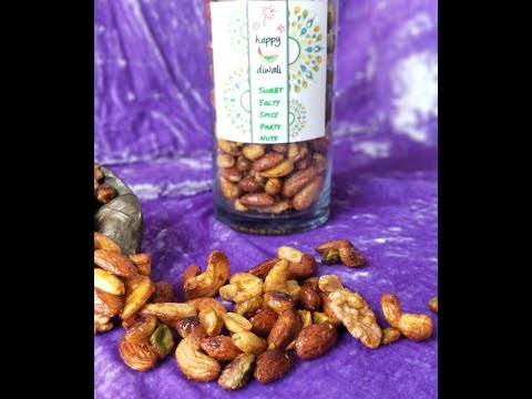 MADE WITH LOVE SERIES - Sweet, Spicy, Salty PARTY NUTS
