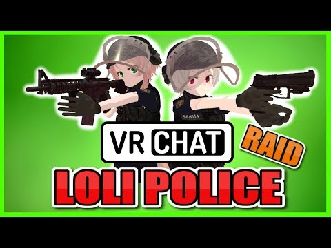 Xxx Mp4 VRChat PUT YOUR HANDS UP ONI CHAN Loli Police Raid 3gp Sex