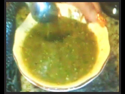 Salsa Verde De Tomatillo 100% (100% green  salsa )