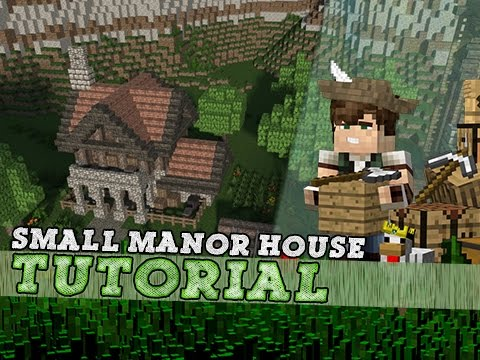 Minecraft Tutorial: Small Medieval Manor House!