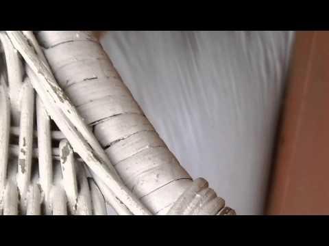 HOW TO : Rewrap a Wicker Leg