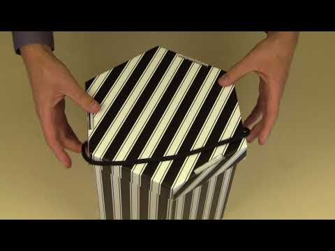 How to construct a Hat Box