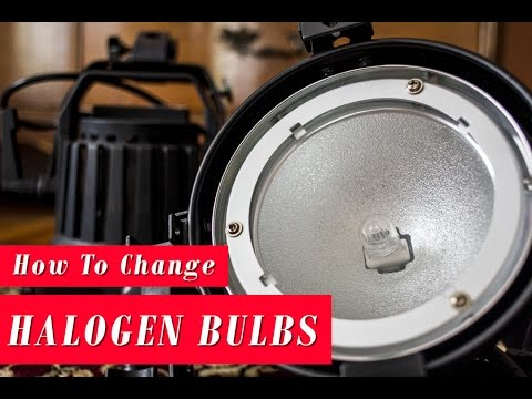 How to Change the Bulb in a Halogen Lamp - Film Lighting 101