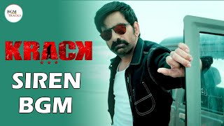 Krack BGM - Police Siren BGM | Krack Police BGM | Krack Theme