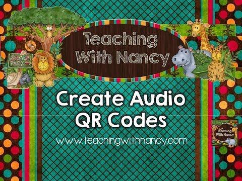 Create Audio QR Codes