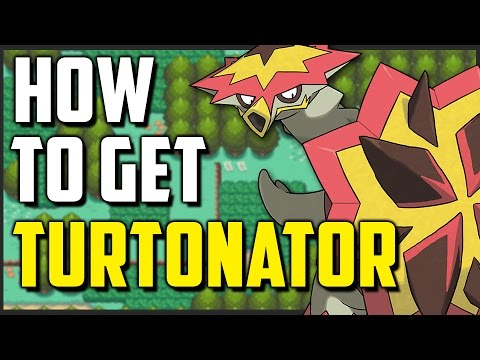 How to get Turtonator in Pokemon Sun and Moon