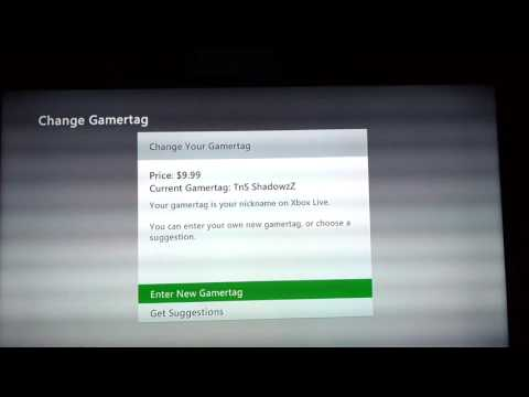 How to Change Ur Xbox Gamertag for free [2016]