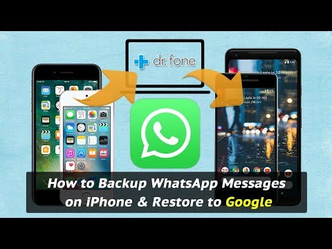How to Backup WhatsApp Messages on iPhone & Restore to Google