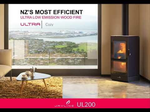 Jayline UL 200 Wood Fire - NZ's most efficient Ultra Low Emission Burner